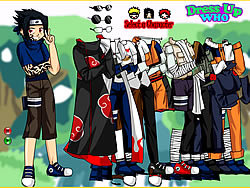 gra Naruto and Frieds Dress Up