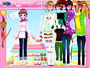 Happy pink dressup Spiele