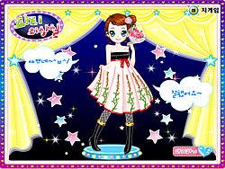 Gioca gratuitamente a Kim Dancer Dressup