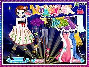 Play Kim dancer dressup Game