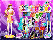 Play Disco dress room Game