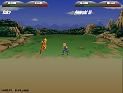 Jogar jogo grátis Dragonball Z