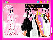 Play Umbrella gown dressup Game