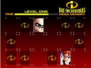 The Incredibles Mega Memory game