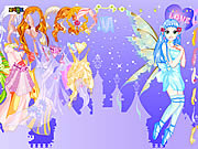 Purply Fairy Dressup game