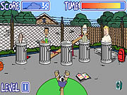 Recess dodgeball Spiele