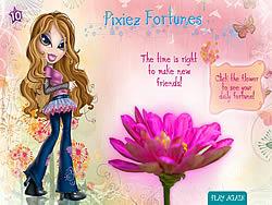 Bratz Pixies Fortunes game