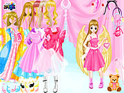 Play Angel land dressup Game