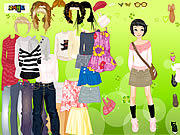 Play Beatrice dressup Game