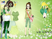 Play Green life dressup Game Online