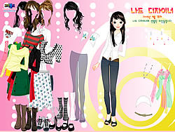 Nice Girl Dressup game