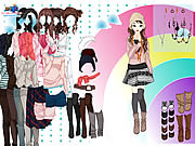 Play Rainbow dressup 3 Game