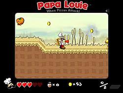 เล่นเกมฟรี Papa Louie: When Pizzas Attack