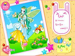 Maglaro ng libreng laro Fairy Dressup 3