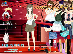 Show Stairs Dressup game
