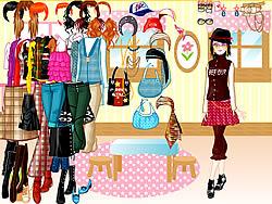 Unique Fashion Dress Up game
