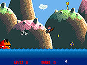 Play Super mario boat bonanza Game