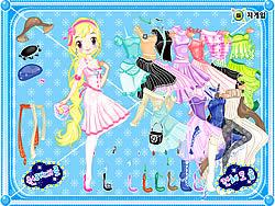 Gioca gratuitamente a Doll Superstar Dressup