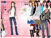 Play Karine dressup Game