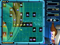 Gioca gratuitamente a Jimmy Neutron: Alien Invasion