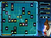 Play Jimmy neutron alien invasion Game