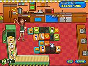 Play Mahjong burger Game