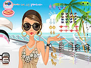 Play Summer dress up Game