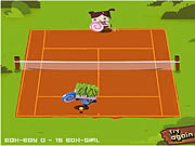 Play Box brothers tennis Game