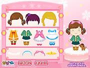 Play Cute kindergarten kid Game