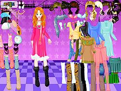 Dancefloor Dressup game