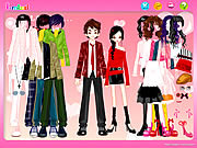 Play Couple shopping dress up Game