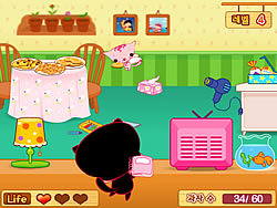 Cat Angel Cookie Rescue game