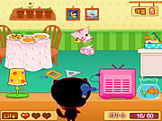 Play Cat angel cookie rescue Game