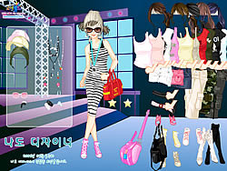 Top Model Dress Up game