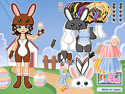 Dressup Easter Bunny game