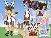 Play Dressup easter bunny Game