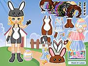Dressup Easter Bunny لعبة