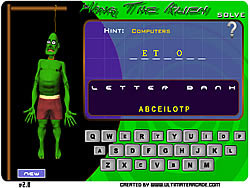 Hang The Alien game