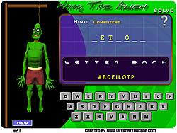 Hang The Alien game