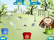 Recycle Roundup game
