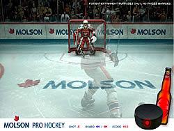 เล่นเกมฟรี Molson Pro Hockey