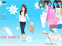 Spring Hats Dress Up game