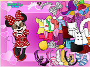 Jugar Minnie mouse dress up Juego