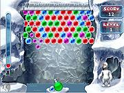 Jogar jogo grátis Yeti Bubbles