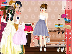 Permainan Elegant Fashion Dress Up