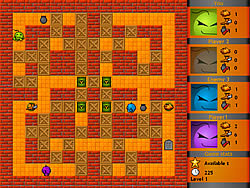 Fire and Bombs game