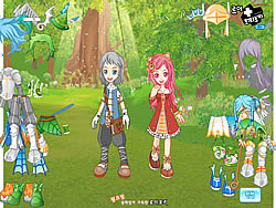 Spring Fairy Couple game