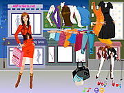 Play Hot fashion shopping girl Game