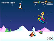 Play Snowboard safari Game