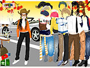 Play Ferrari dress up 3 Game